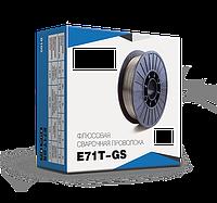 Сварочная проволока флюсовая самозащитная диаметр 0,8мм E71T-GS (катушка 1 кг) без газа