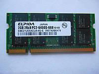 Б/у Оперативная память SO-DIMM DDR2 2GB 800Mhz