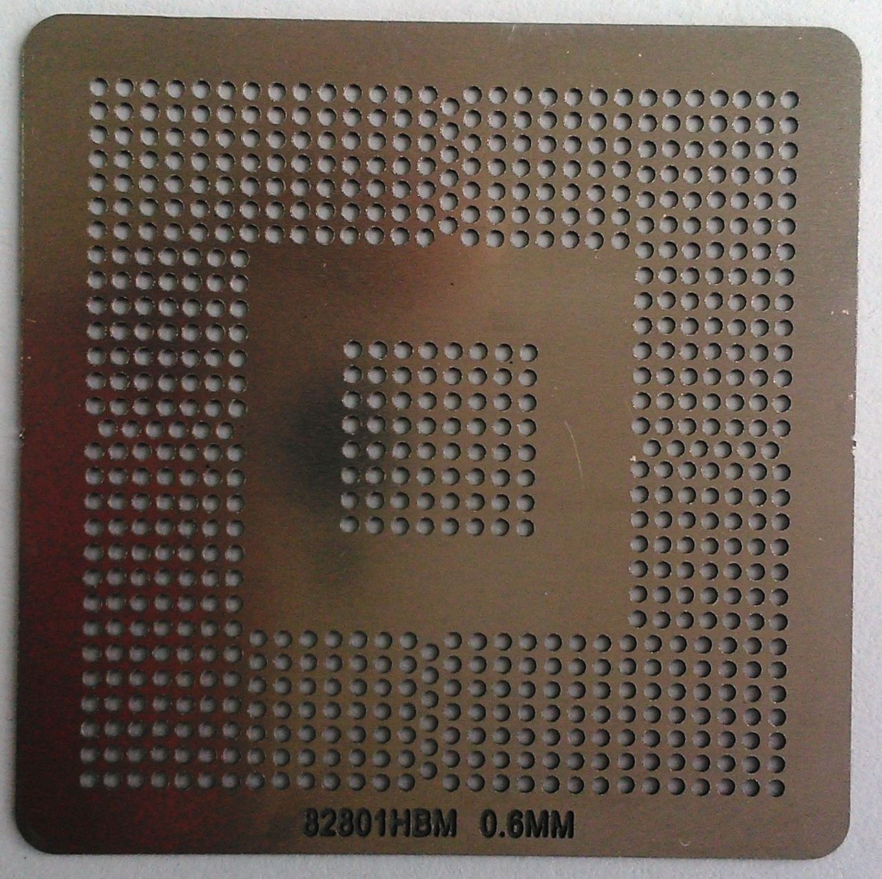 BGA трафарет 82801HBM 0,6mm