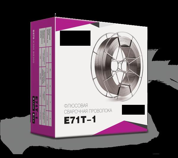Сварочная проволока флюсовая 0,8 мм E71T-1 (катушка 1 кг)
