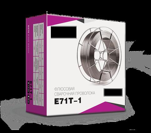 Сварочная проволока флюсовая 0,8 мм E71T-1 (катушка 1 кг), фото 2