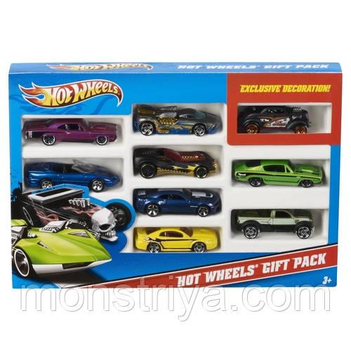Набор из 9 машинок Hot wheels (Хот Вилс)
