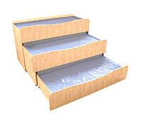 Кровать детская 3-ярусная (0833-Б)