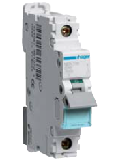 Автоматический выключатель 25 А, 1п, С, 10 kA, hager, Франция, фото 2