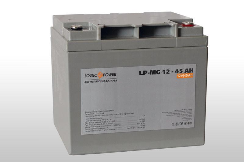 Мультигелевый аккумулятор Logicpower LP-MG 12V 45AH