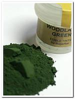 """""""Sugarflairs""""Сухая краска для цветов """"Woodland green"""" (лесная зелень)"""