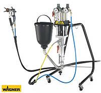 Пневматический поршневой насос FineFinish 20-30 с 5-литровым резервуаром, фото 1