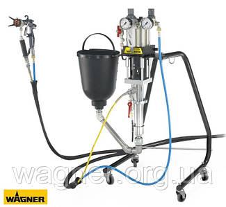 Пневматический поршневой насос FineFinish 20-30 с 5-литровым резервуаром