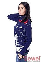 """Красивый женский свитер """"Снеговик"""", фото 3"""
