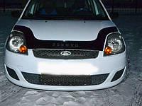 Дефлектор капота (мухобойка) FORD Fiesta с 2002-2008 г.в., фото 1