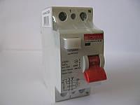 Выключатель дифференциального тока e.industrial.rccb.2.16.30, 2р, 16А