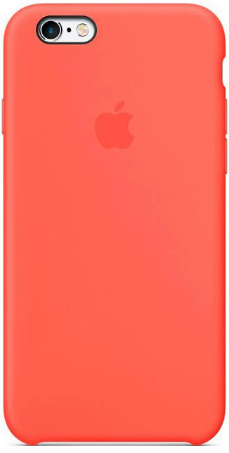Чохол для iPhone 6+ / 6s+ Silicone Case OEM ( Apricot )