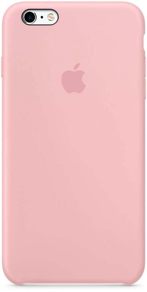 Чохол для iPhone 6+ / 6s+ Silicone Case OEM ( Pink )