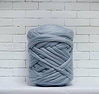 Толстая, крупная пряжа 100% шерсть 1кг (40м). Цвет: Перламутровый. 28 мкрн. Топс. Лента для пледов