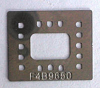 BGA трафарет F4B9650