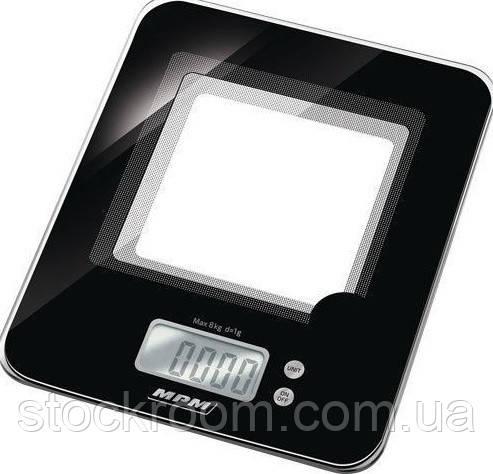 Веса кухонные MPM MWK 03 стеклянные на 8 кг.