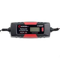 Зарядное устройство 6/12В, 1/2/3/4А, 230В, зимний режим зарядки, дисплей AT-3024, фото 1