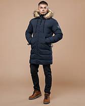 Braggart Youth | Куртка зимняя 25130 синяя, фото 2