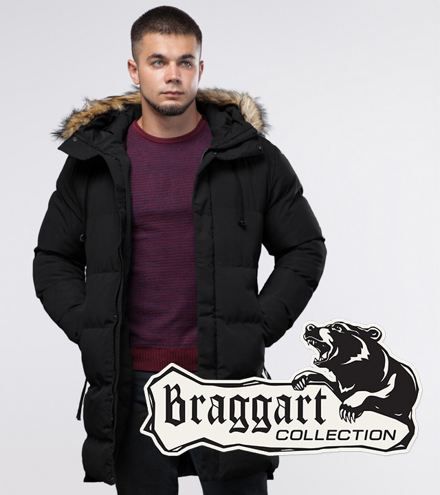 Braggart Youth | Куртка зимняя 25290 черная