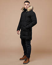 Braggart Youth | Куртка зимняя 25290 черная, фото 2