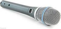 Микрофоны Shure BETA 87A