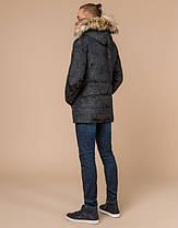 Braggart Youth   Куртка зимняя 25110 темно-серая, фото 3