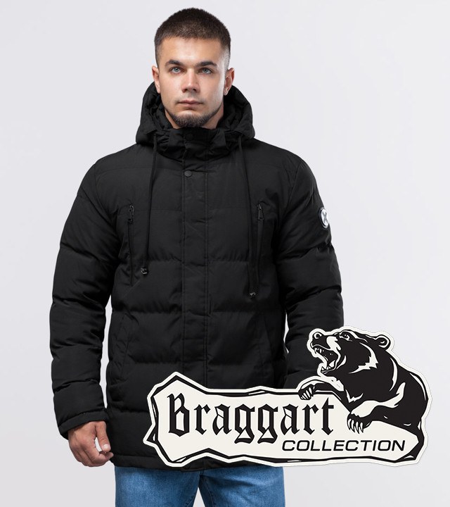 Braggart Youth | Зимняя куртка 25000 черная