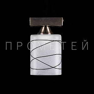 Светильник на 1 патрон (античная бронза) P3-B24/1C/AB+BK