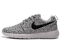 Мужские кроссовки Nike Roshe Run Flyknit Turtle Grey размер 42 (Ua_Drop_115292-42)