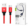 Кабель Baseus Yiven Series Micro USB 1m, Red (CAMYW-A09), фото 5