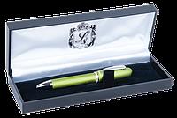 Ручка шариковая Charm с кристаллами Swarovski салатовый в подарочном футляре