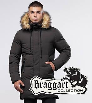 Braggart Youth | Куртка зимняя 25290 кофе, фото 2