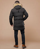 Braggart Youth | Куртка зимняя 25290 кофе, фото 3