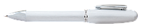 Ручка шариковая Charm с кристаллами Swarovski серебро в подарочном футляре