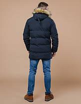 Braggart Youth |  Куртка молодежная зимняя 13-25 лет 25270 темно-синяя, фото 3