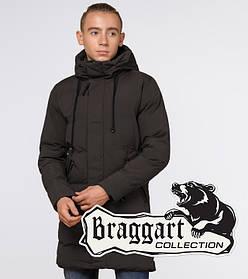 Braggart Youth | Зимняя куртка молодежная 25120 кофе