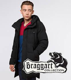 Braggart Youth | Зимняя куртка молодежная 13-25 лет 25120 черная