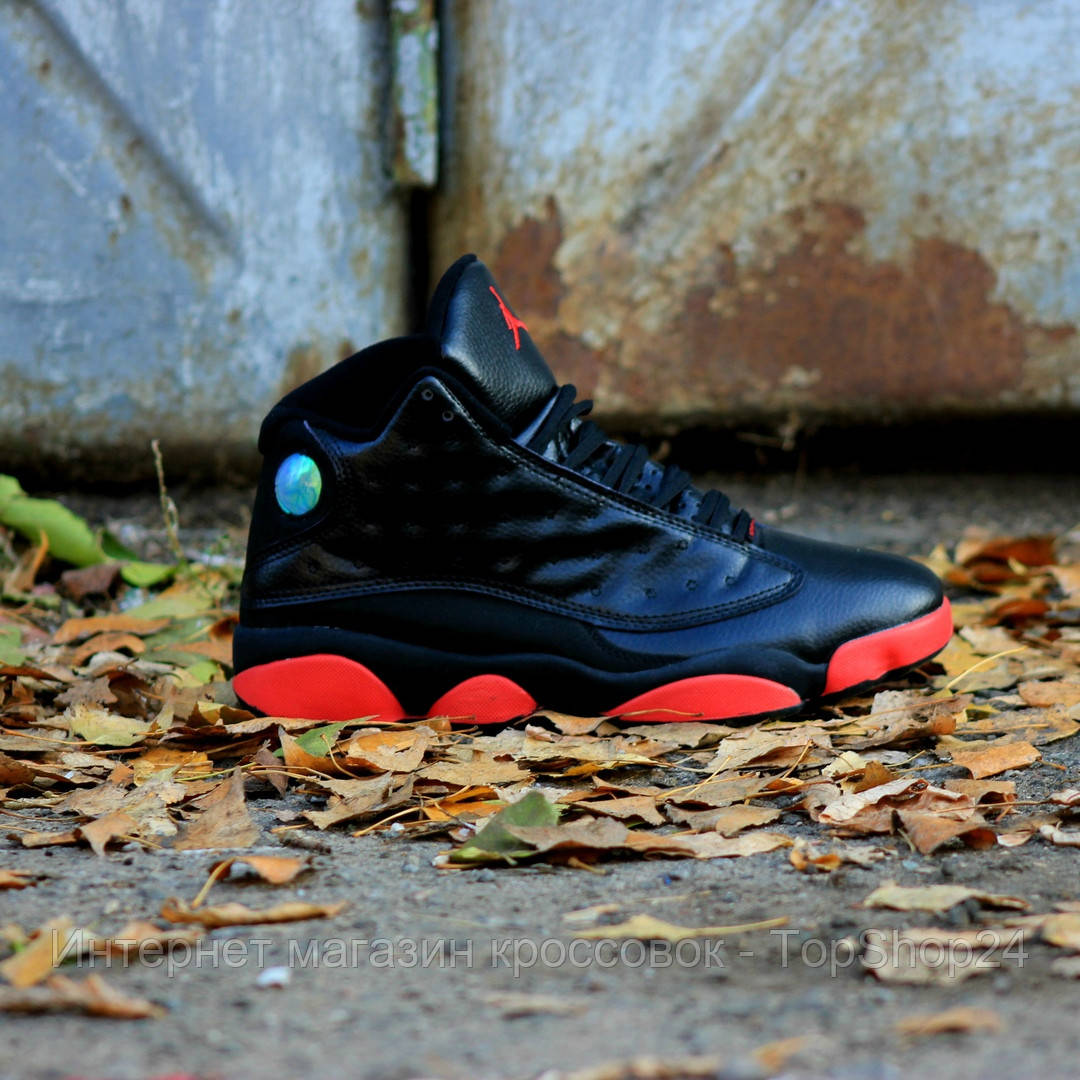 "Кроссовки Nike Air Jordan 13 ""Retro Dirty Bred "" (реплика А+++ )"