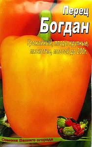 Семена Перца сорт Богдан, пакет 10х15 см
