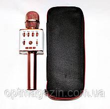 Беспроводной микрофон-караоке USB,SD,FM,AUX и Bluetooth