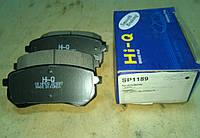 Колодки тормозные передние Hyundai i10 SP1189