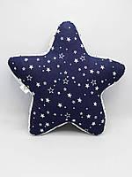 Подушка-игрушка ручной работы Звезда Nikolo Valens Синий (NV21.23)