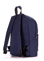 Рюкзак стеганый POOLPARTY, backpack-theone-blue