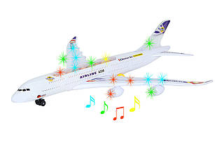 Самолет со светом и звуком