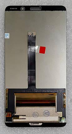 Модуль (сенсор + дисплей LCD) для Huawei MATE 10 (ALP-L09/ALP-L29) чорний, фото 2