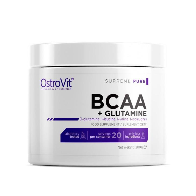 OstroVit BCAA & L-Glutamine 200 г