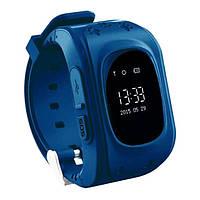 Smart Baby W5 GPS Smart Tracking Watch Dark Blue (Q50)