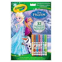 "04-5900 (04-5900-E-000). Книга-раскраска с фломастерами Crayola ""Frozen"""