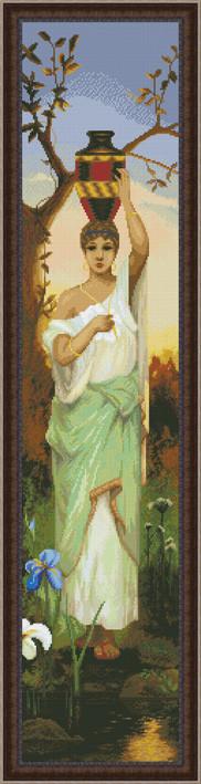 Набор для вышивки крестом Женщина с кувшином Ю 0302
