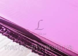 Бумага упаковочная розовая 50х70 см металлик односторонняя